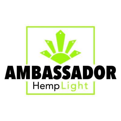 Logo Hemplight ambasador konopljinih izdelkov